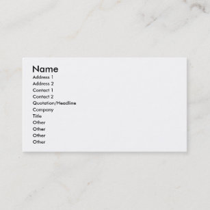 Build Your Business Cards Zazzle Au
