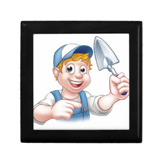 Builder Bricklayer Construction Worker Trowel Tool Gift Box