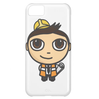 Builder Cartoon Character iPhone 5 Case-Mate ID Cover For iPhone 5C