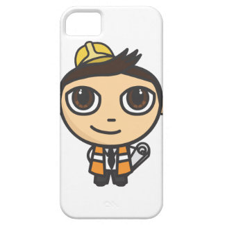 Builder Cartoon Character iPhone 5 Case-Mate ID iPhone 5 Cases
