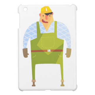 Builder In Hard Hat On Construction Site iPad Mini Cover