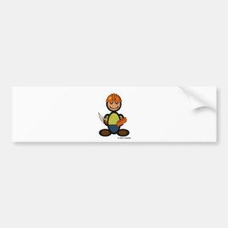 Builder (plain) bumper stickers