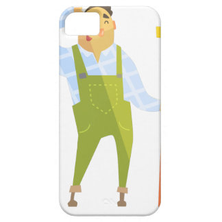 Builder Scratching Head On Construction Site Barely There iPhone 5 Case