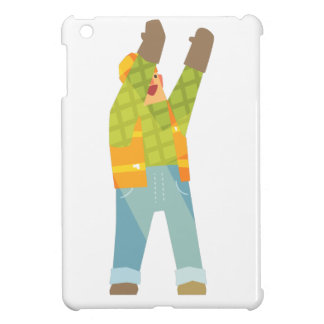 Builder Signaling On Construction Site Case For The iPad Mini