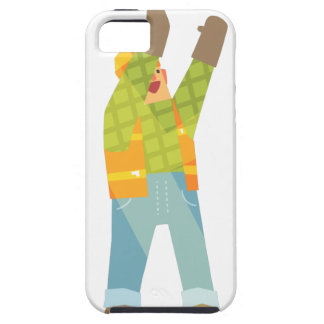 Builder Signaling On Construction Site iPhone 5 Case