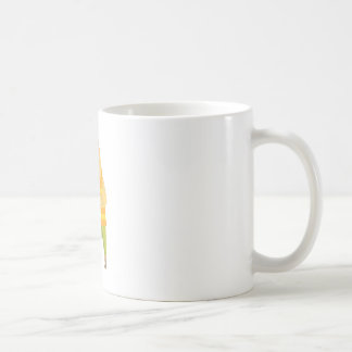 Builder With Jackhammer On Construction Site Coffee Mug