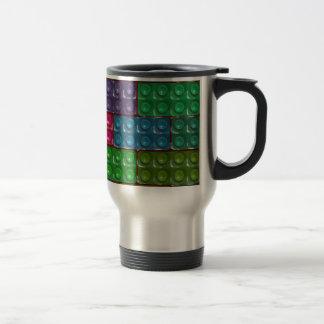 Builder's Bricks - Rainbow Stainless Steel Travel Mug