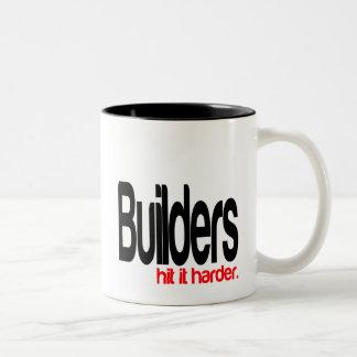 Builders Hit It Harder Two-Tone Mug