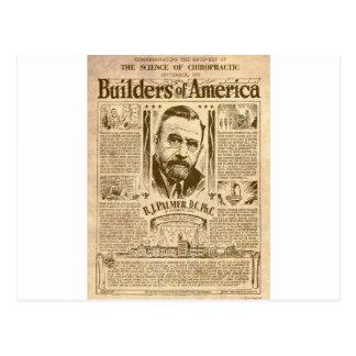 builders of america postcard