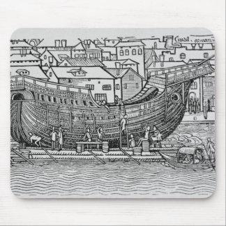 Building a Ship Mouse Pad