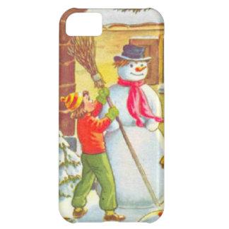 Building a snowman iPhone 5C case