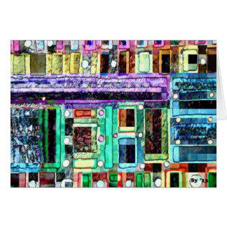 Building Blocks Card