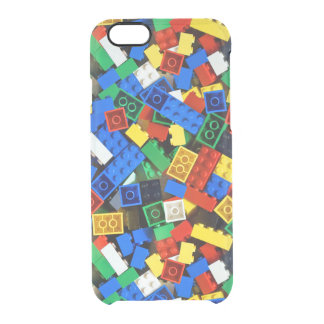 "Building Blocks Construction Bricks ""Construction Clear iPhone 6/6S Case"
