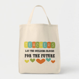 Building Blocks For The Future Tote Bags