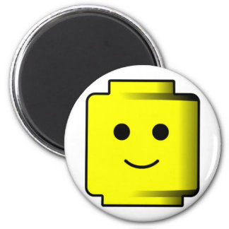 Building Blocks Head magnet