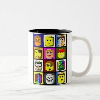 Building Blocks Head Mug