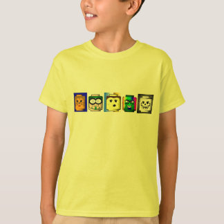Building Blocks Heads shirt