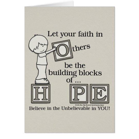 Building Blocks of HOPE Card