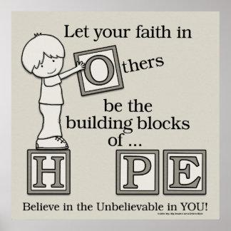 Building Blocks of HOPE Poster