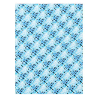Building Blocks Silhouette Business Team People Tablecloth
