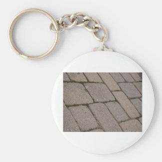 Building Bricks Basic Round Button Key Ring