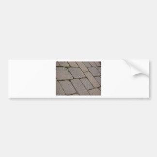 Building Bricks Bumper Sticker