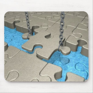 Building Bridges Mouse Pad