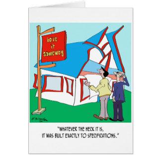 Building Cartoon 9233 Card
