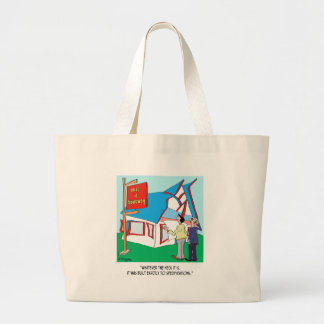 Building Cartoon 9233 Jumbo Tote Bag