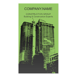 Building & Construction Business Card