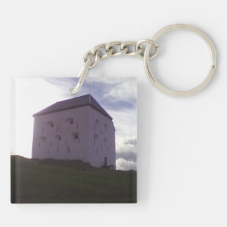Building kristiansten festning jpg acrylic keychain