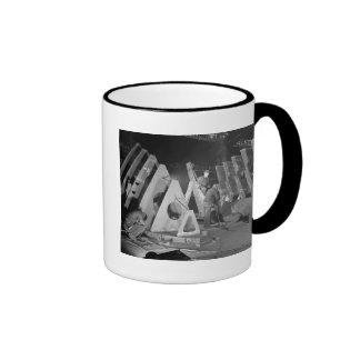 Building Liberty Ships, 1941 Mug