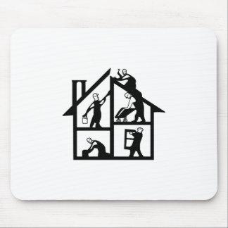 Building Logo Mouse Pad