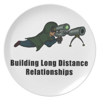 building long distance relationships party plates