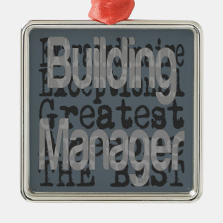 Building Manager Extraordinaire Metal Ornament