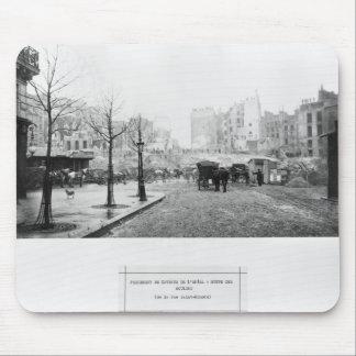 Building of Avenue de l'Opera Mouse Pads