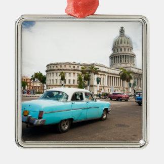 Building of Capitol in Havana Metal Ornament