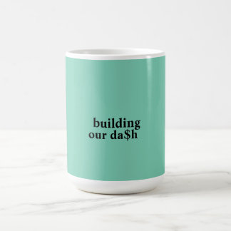 building our dash basic white mug
