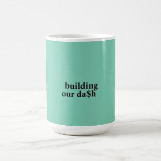 building our dash basic white mug