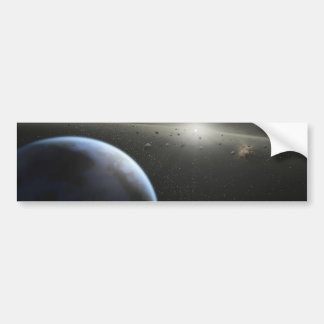 Building Planets Bumper Sticker