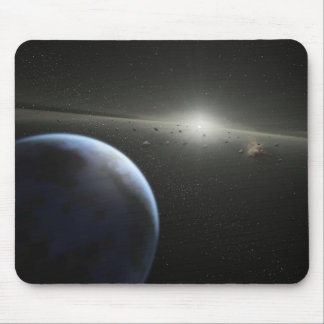 Building Planets Mouse Pads