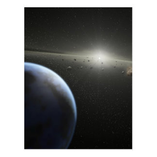 Building Planets Postcard