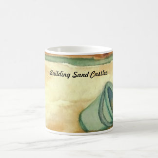 Building Sand Castles CricketDiane Art & Design Basic White Mug