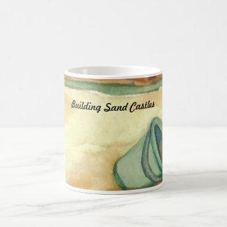 Building Sand Castles CricketDiane Art & Design Basic White Mug