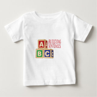 Building Sentences Baby T-Shirt
