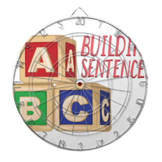 Building Sentences Dartboard