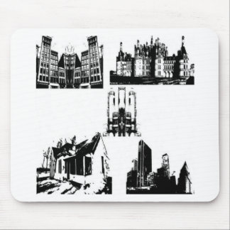Building series design mouse pad