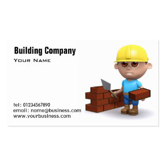 Building Services Business Cards
