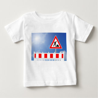 Building site, building site closing and building baby T-Shirt