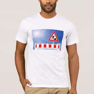 Building site, building site closing and building T-Shirt